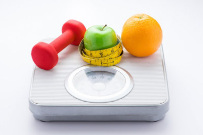 Dieting weight-loss slim down concept
